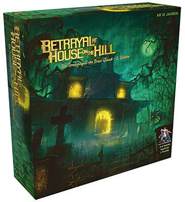 Alle Details zum Brettspiel Betrayal at House on the Hill ansehen