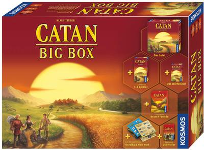 Catan: Big Box (2019) bei Amazon bestellen