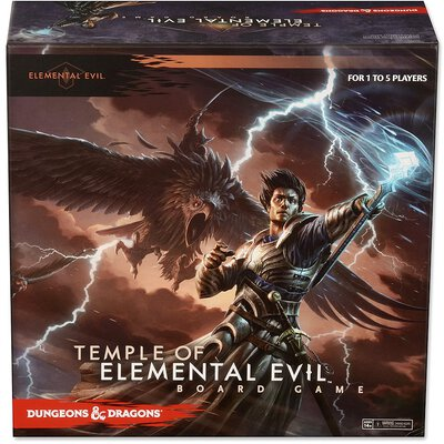Alle Details zum Brettspiel Dungeons & Dragons: Temple of Elemental Evil Board Game ansehen