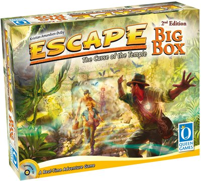 Alle Details zum Brettspiel Escape: The Curse of the Temple – Big Box ansehen