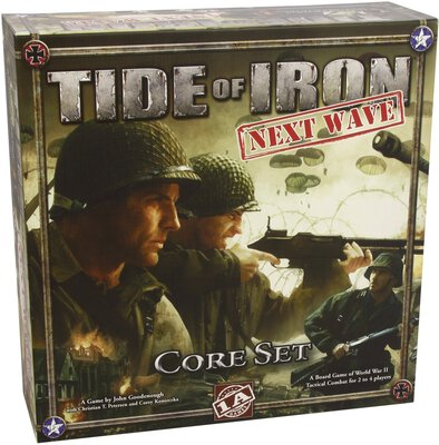 Alle Details zum Brettspiel Tide of Iron: Next Wave - Core Set ansehen