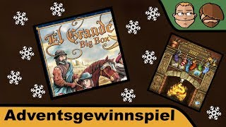 "YouTube Review vom Spiel ""El Grande Big Box"" von ""Hunter & Cron - Brettspiele"""