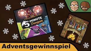 "YouTube Review vom Spiel ""5-Minute Dungeon"" von ""Hunter & Cron - Brettspiele"""