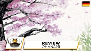"YouTube Review vom Spiel ""Ohanami"" von ""Get on Board"""
