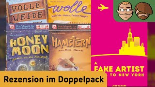 "YouTube Review vom Spiel ""A Fake Artist Goes to New York"" von ""Hunter & Cron - Brettspiele"""