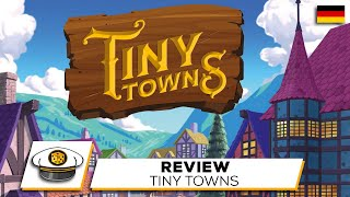 "YouTube Review vom Spiel ""Tiny Towns"" von ""Get on Board"""