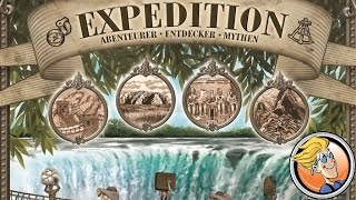 "YouTube Review vom Spiel ""Expedition"" von ""BoardGameGeek"""