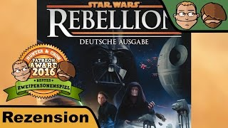 "YouTube Review vom Spiel ""Star Wars: Rebellion"" von ""Hunter & Cron - Brettspiele"""