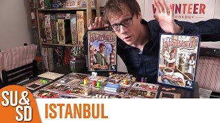 "YouTube Review vom Spiel ""Istanbul"" von ""Shut Up & Sit Down"""
