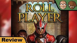 "YouTube Review vom Spiel ""Roll Player"" von ""Hunter & Cron - Brettspiele"""