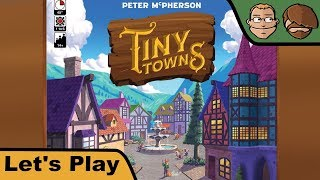 "YouTube Review vom Spiel ""Tiny Towns"" von ""Hunter & Cron - Brettspiele"""