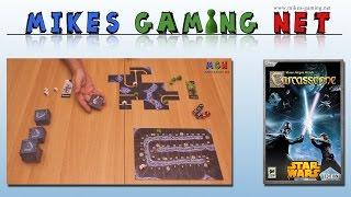 "YouTube Review vom Spiel ""Carcassonne: Star Wars"" von ""Mikes Gaming Net - Brettspiele"""