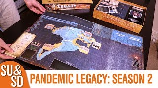"YouTube Review vom Spiel ""Pandemic Legacy: Saison 1"" von ""Shut Up & Sit Down"""