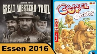 "YouTube Review vom Spiel ""Great Western Trail"" von ""Hunter & Cron - Brettspiele"""