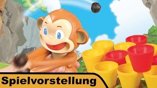 "YouTube Review vom Spiel ""Crazy Coconuts"" von ""Hunter & Cron - Brettspiele"""