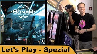 "YouTube Review vom Spiel ""Captain Sonar"" von ""Hunter & Cron - Brettspiele"""