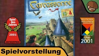 "YouTube Review vom Spiel ""Carcassonne Big Box 2017"" von ""Hunter & Cron - Brettspiele"""