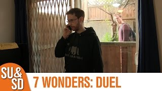 "YouTube Review vom Spiel ""7 Wonders Duel"" von ""Shut Up & Sit Down"""