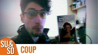"YouTube Review vom Spiel ""Coup"" von ""Shut Up & Sit Down"""