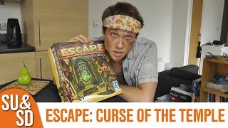 "YouTube Review vom Spiel ""Escape: The Curse of the Temple – Big Box"" von ""Shut Up & Sit Down"""