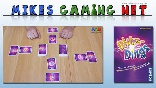 "YouTube Review vom Spiel ""Blitzdings"" von ""Mikes Gaming Net - Brettspiele"""