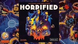 "YouTube Review vom Spiel ""Horrified"" von ""BoardGameGeek"""