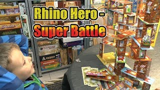 "YouTube Review vom Spiel ""Rhino Hero: Super Battle"" von ""SpieleBlog"""