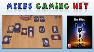 "YouTube Review vom Spiel ""The Mind Kartenspiel"" von ""Mikes Gaming Net - Brettspiele"""
