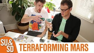 "YouTube Review vom Spiel ""Terraforming Mars"" von ""Shut Up & Sit Down"""