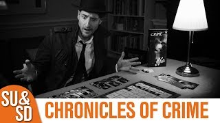 "YouTube Review vom Spiel ""Chronicles of Crime"" von ""Shut Up & Sit Down"""