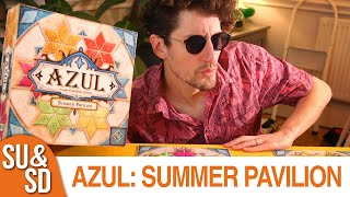"YouTube Review vom Spiel ""Azul: Der Sommerpavillon"" von ""Shut Up & Sit Down"""