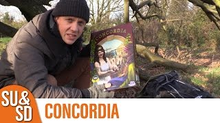 "YouTube Review vom Spiel ""Concordia"" von ""Shut Up & Sit Down"""