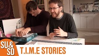 "YouTube Review vom Spiel ""T.I.M.E Stories"" von ""Shut Up & Sit Down"""