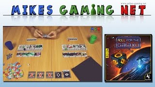 "YouTube Review vom Spiel ""Roll for the Galaxy"" von ""Mikes Gaming Net - Brettspiele"""