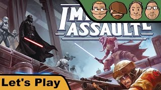 "YouTube Review vom Spiel ""Star Wars: Imperial Assault"" von ""Hunter & Cron - Brettspiele"""