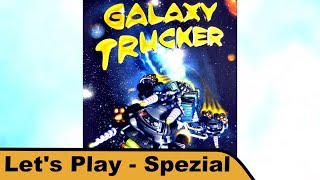 "YouTube Review vom Spiel ""Galaxy Trucker"" von ""Hunter & Cron - Brettspiele"""