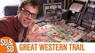 "YouTube Review vom Spiel ""Great Western Trail"" von ""Shut Up & Sit Down"""