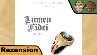 "YouTube Review vom Spiel ""T.I.M.E Stories"" von ""Hunter & Cron - Brettspiele"""