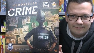 "YouTube Review vom Spiel ""Chronicles of Crime"" von ""SpieleBlog"""
