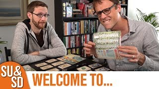 "YouTube Review vom Spiel ""Welcome To..."" von ""Shut Up & Sit Down"""