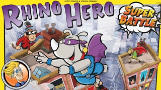 "YouTube Review vom Spiel ""Rhino Hero: Super Battle"" von ""BoardGameGeek"""