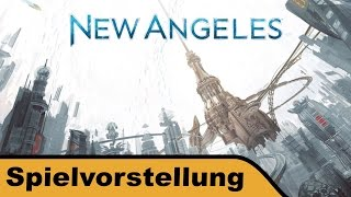 "YouTube Review vom Spiel ""New Angeles"" von ""Hunter & Cron - Brettspiele"""