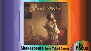 "YouTube Review vom Spiel ""Kill Shakespeare"" von ""BoardGameGeek"""