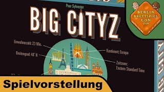 "YouTube Review vom Spiel ""Big City"" von ""Hunter & Cron - Brettspiele"""