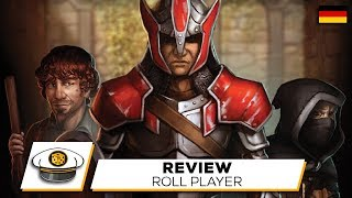 "YouTube Review vom Spiel ""Roll Player"" von ""Get on Board"""