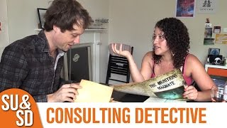 "YouTube Review vom Spiel ""Sherlock Holmes Consulting Detective: Jack the Ripper & West End Adventures"" von ""Shut Up & Sit Down"""