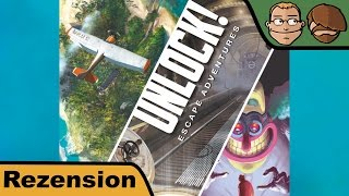"YouTube Review vom Spiel ""Unlock! Timeless Adventures"" von ""Hunter & Cron - Brettspiele"""