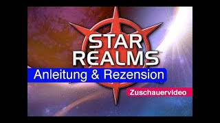 "YouTube Review vom Spiel ""Star Realms: Colony Wars"" von ""Spielama"""