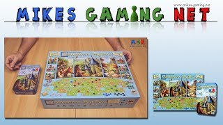 "YouTube Review vom Spiel ""Carcassonne Big Box 2017"" von ""Mikes Gaming Net - Brettspiele"""