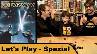 "YouTube Review vom Spiel ""Carcassonne: Star Wars"" von ""Hunter & Cron - Brettspiele"""